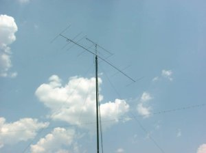 Antenna At NFARL Field Day 2000